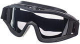 CLOSED BLACK safety goggles