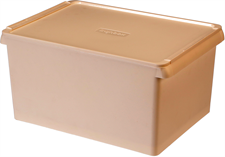 Storage Box with Side Hole, 13 L