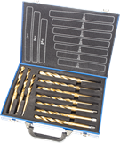 10 Pc HSS MK2 Drill Bit Set